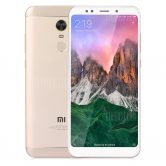 $134 with coupon for Xiaomi Redmi 5 Plus 4G Phablet 3GB RAM 32GB ROM Global Version  –  GOLDEN from GearBest