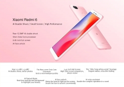 €104 with coupon for Xiaomi Redmi 6 4G 3GB RAM 32GB ROM Smartphone Global Edition – BLACK from GearBest