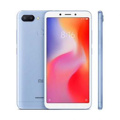 €127 with coupon for Xiaomi Redmi 6 5.45 Inch 4G LTE Smartphone 3GB 32GB  from GEEKBUYING