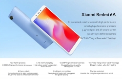€94 with coupon for Xiaomi Redmi 6A 4G Smartphone 2GB RAM 32GB ROM Global Version – BLACK from GearBest