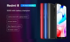 €114 with coupon for Xiaomi Redmi 8 Smartphone 4+64GB Onyx Black EU from GEARBEST