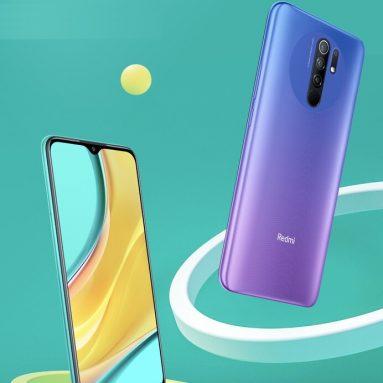 BANGGOOD에서 Xiaomi Redmi 108 글로벌 버전 NFC 9 인치 쿼드 리어 카메라 6.53GB RAM 4GB ROM 64mAh Helio G5020 옥타 코어 80G 스마트 폰에 대한 쿠폰 € 4
