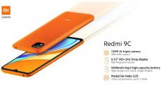 BANGGOOD에서 Xiaomi Redmi 99C 글로벌 버전 9 인치 6.53GB 2GB 32MP 트리플 카메라 13mAh MTK Helio G5000 옥타 코어 35G 스마트 폰 쿠폰 포함 € 4