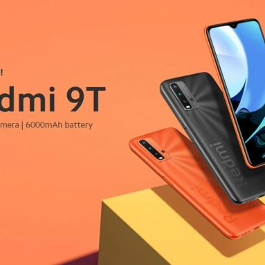 Xiaomi Redmi için kuponlu 145 € 9T 4GB 64GB Smartphone World Premiere Global Version Non NFC - GEARBEST'ten Orange Resmi Standardı
