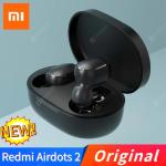 € 9 Xiaomi Redmi Airdots के लिए कूपन के साथ 2 TWS इयरफ़ोन वायरलेस ब्लूटूथ 5.0 ईरफ़ोन स्टीरियो शोर में कमी Mic आवाज नियंत्रण खेल कान की बाली हेडफोन से