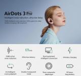 48 € avec coupon pour Xiaomi Redmi AirDots 3 Pro TWS Bluetooth 5.2 Écouteurs Annulation active du bruit Écouteurs Smart Wear Casque à faible latence avec micro de BANGGOOD