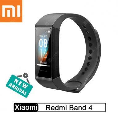 Xiaomi Redmi Band Smart Bluetooth 18防水ブレスレットタッチラージカラースクリーンリストバンドのクーポン付き5.0ドル