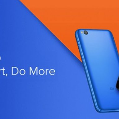 $75 with coupon for Xiaomi Redmi Go 4G Smartphone Global Version – Blue from GEARBEST
