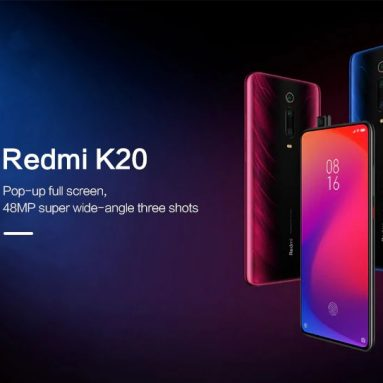 $449 with coupon for Xiaomi Redmi K20 4G Phablet 6GB RAM 64GB ROM Super Wide-angle Three Shots – Black from GEARBEST