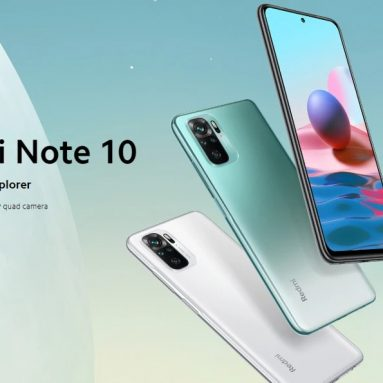 €141 with coupon for Xiaomi Redmi Note 10 Global Version 4GB 64GB 48MP Quad Camera 6.43 inch AMOLED 33W Fast Charge Snapdragon 678 Octa Core 4G Smartphone from BANGGOOD