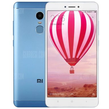 EARLY BIRD $159 with coupon for Xiaomi Redmi Note 4X 4G Phablet 64GB ROM BLUE from Gearbest