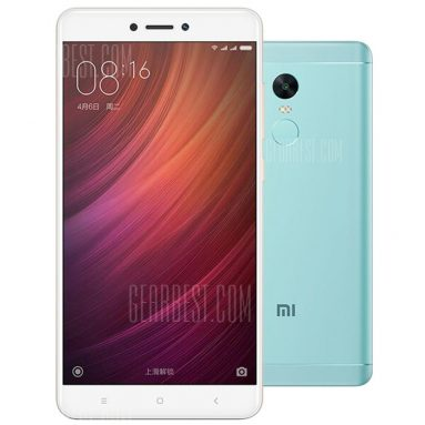 $169 with coupon for Xiaomi Redmi Note 4X 4G Phablet – INTERNATIONAL VERSION 3GB RAM 32GB ROM BLUE GREEN from GearBest