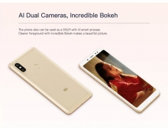 €172 with coupon for Xiaomi Redmi Note 5 4G Phablet 4GB RAM 64GB ROM Global Version – GOLDEN from GearBest