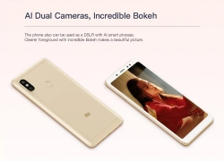 €159 with coupon for Xiaomi Redmi Note 5 4G Phablet 4GB RAM 64GB ROM Global Version – GOLDEN from GearBest