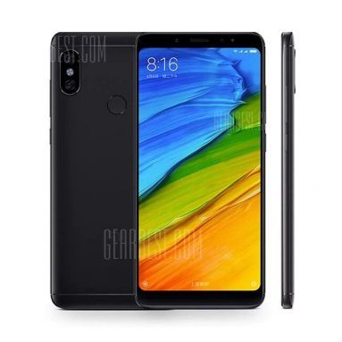 €162 with coupon for Xiaomi Redmi Note 5 Global Version 4GB RAM 64GB ROM Smartphone Gold/Black/Blue from BANGGOOD