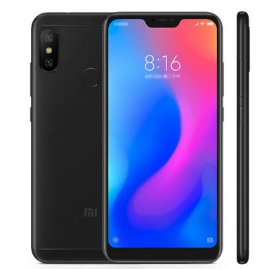 €182 with coupon for Xiaomi Redmi Note 6 Pro 6.26 inch 4G 64GB ROM Phablet Global Version – BLACK from GEARBEST