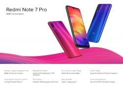 $ 288 con cupón para Xiaomi Redmi Note 7 Pro 4G Smartphone 6GB RAM 128GB ROM Versión china e inglés de GEARVITA