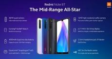 € 129 s kupónom pre Xiaomi Redmi Poznámka 8T Globálna verzia 6.3 palcový NFC 48MP Quad Zadná kamera 3GB 32GB 4000mAh Snapdragon 665 Octa core 4G Smartphone od BANGGOOD