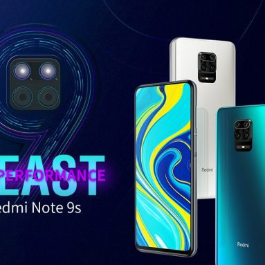 158 يورو مع قسيمة لـ Xiaomi Redmi Note 9S Global Version 6.67 بوصة 48MP Quad Camera 4GB 64GB 5020mAh Snapdragon 720G Octa core 4G Smartphone from BANGGOOD