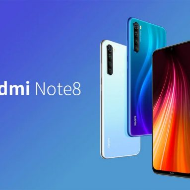 €130 with coupon for Xiaomi Redmi Note 8 Smartphone Global Version 4+64GB Blue EU – Blue EU Plug from GEARBEST