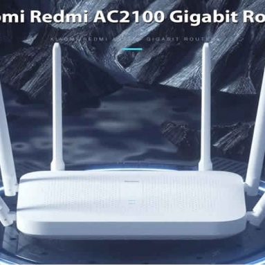 €33 with coupon for Xiaomi Redmi Router AC2100 2033Mbps 2.4G 5G Dual Band Wireless Router 6*High Gain Antennas 128MB OpenWRT WiFi Router EU CZ Warehouse from BANGGOOD