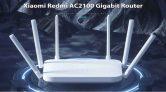 37 € uz kupon za Xiaomi Redmi AC2100 Gigabit Router od GEARBEST