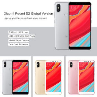 €107 with coupon for Xiaomi Redmi S2 Global Version 4GB RAM 64GB ROM Smartphone EU (SPAIN) WAREHOUSE from BANGGOOD