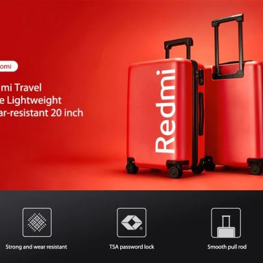 € 90 med kupong for Xiaomi Redmi Travel Case Lett Slitesterk 20 tomme fra GEARBEST