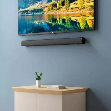 40 € s kupónem pro Xiaomi Redmi kabelový a bezdrátový Bluetooth TV SoundBar Audio 30W TV domácí kino Nástěnná montáž ze skladu EU GSHOPPER