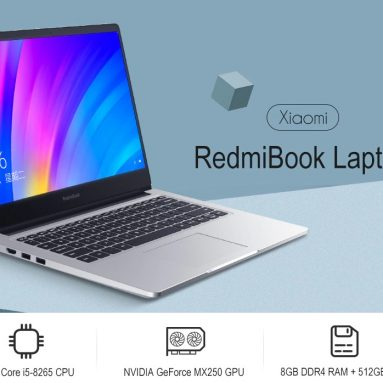 $799 with coupon for Xiaomi RedmiBook Laptop from GEARBEST