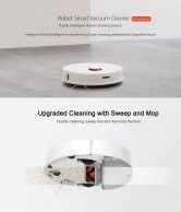 $429 with coupon for roborock S50 Smart Robot Vacuum Cleaner – WHITE ROBOROCK S50 SECOND-GENERATION INTERNATIONAL VERSION EU WAREHOUSE from GEARBEST