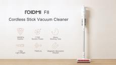 Roidmi F219 무선 스틱 진공 청소기 라이트 웨이트 핸드 헬드 집진기 8Pa (자석 부착) Xiaomi Youpin에서 충전기 앱 제어 - 18500 ~ 110V (BANGGOOD)