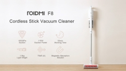 €219 with coupon for Roidmi F8 Cordless Stick Vacuum Cleaner Lightweght Handheld Dust Collector 18500Pa with Magnet Stand Charger App Control from Xiaomi Youpin – 110~240V from BANGGOOD