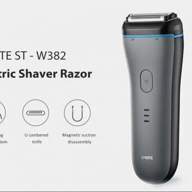 $ 39 với phiếu giảm giá cho Máy cạo râu nam chống nước Xiaomi SMATE ST-W382 của GEARVITA