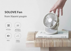 $11 with coupon for Xiaomi SOLOVE F3 Clip-on Mini Fan 360 Degree Rotating 3 Speeds Adjustable from GEARVITA