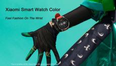 101 يورو مع كوبون لـ Xiaomi Smart Watch Color NFC 1.39 inch AMOLED GPS Fitness Tracker 5ATM مقاوم للماء الرياضة مراقب معدل ضربات القلب Mi Watch Color - من BANGGOOD