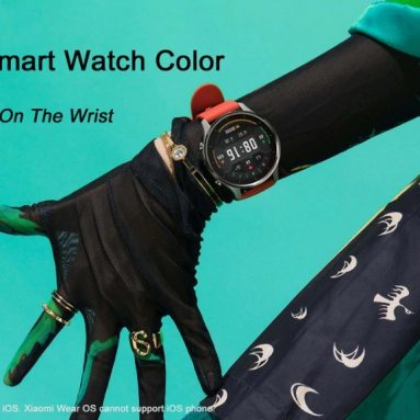 €107 with coupon for Xiaomi Smart Watch Color NFC 1.39 inch AMOLED GPS Fitness Tracker 5ATM Waterproof Sport Heart Rate Monitor Mi Watch Color – from BANGGOOD