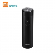€15 with coupon for Xiaomi Smate Electric Turbine Razor with Charging Indicator IPX7 Waterproof Beard Shaver Mini Comfy Clean – Black from BANGGOOD