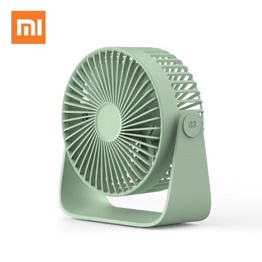 €9 with coupon for Xiaomi Sothing GF03 FREE USB Desktop Fan Aroma Diffuser 360° Adjustable 30dB Low Noise Aromatherapy Fan from BANGGOOD