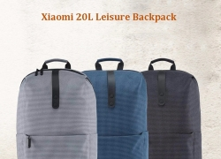 $23 with coupon for Xiaomi Stylish Plaid Water-resistant School Laptop Backpack – BLACK from GearBest