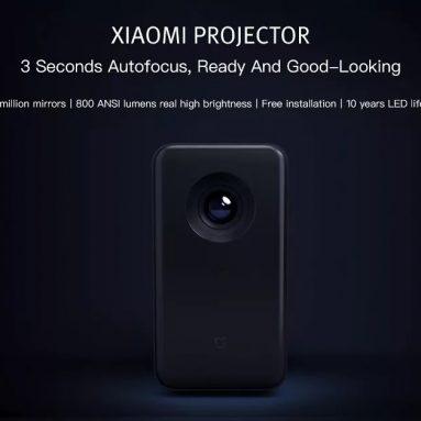 $ 619 sa kupon para sa Xiaomi TYY01ZM DLP 3500 Lumens Quad-core Projector mula sa GearBest