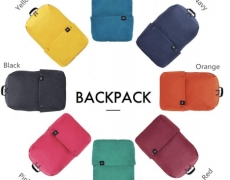 € 7 s kuponom za Xiaomi Trendy Solid Color laganu vodootpornu ruksaku od GearBest