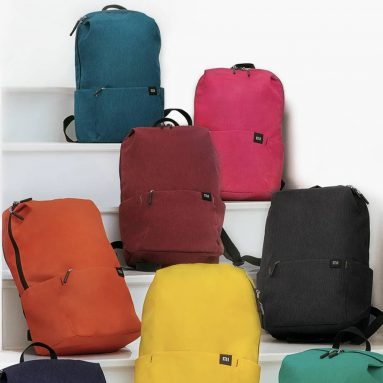 €6 with coupon for Xiaomi 10L Backpack Bag 8 Colors from BANGGOOD