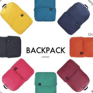 € 6 com cupom para Xiaomi Mi Backpack 10L resistente à água de GearBest