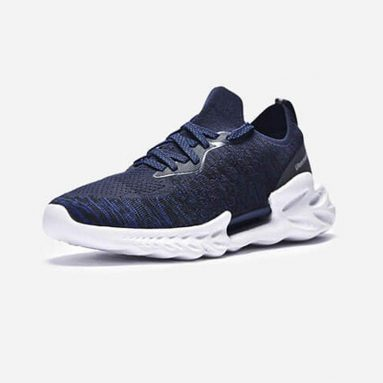 €22 with coupon for Xiaomi ULEEMARK Dragon Scale Pattern Men Sneakers from BANGGOOD
