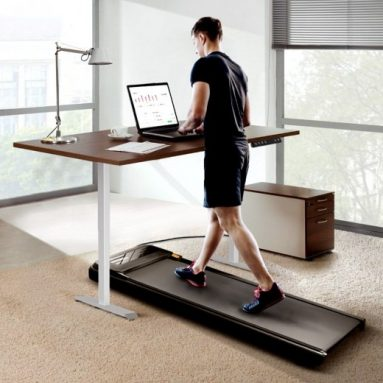 €485 with coupon for Xiaomi Urevo U1 Smart Walking Pad Ultra-Thin Treadmill + ACGAM Electric Height Adjustable Desk Frame from EU warehouse GEEKBUYING