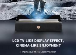 € Xiaomi FENGMI WEMAX A2419 300K ALPD अल्ट्रा शॉर्ट थ्रो लेजर प्रोजेक्टर के लिए कूपन के साथ 4 250nit 4000: BANGGOOD से 1 कंट्रास्ट रेशियो सपोर्ट HDR वॉयस कंट्रोल सिनेमा थिएटर प्रोजेक्टर