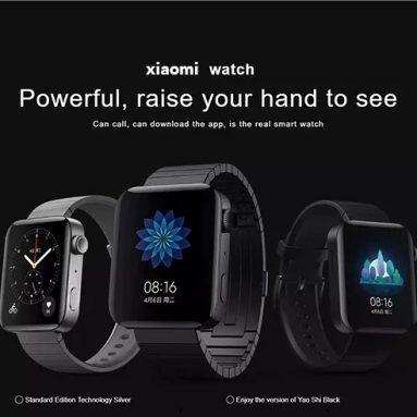 Xiaomi Watch 238 Inch AMOLED Screen 1.78G eSIMリストバンド用のクーポン付き4ユーロカスタマイズされたウォッチフェイスエネルギーモニターNFC時計電話