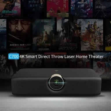 €2599 with coupon for Xiaomi Wemax C700 4K Laser Projector Telephoto Intelligent Direct Throw Projector Appotronics Laser TV Artificial Intelligent 3D Home Theater Projector from BANGGOOD
