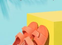 € 21 sa kupon para sa Xiaomi XUN Kids Sandals Ultra light Soft Non-slip Durable Outdoor Activities Sports Sandals Slippers mula BANGGOOD
